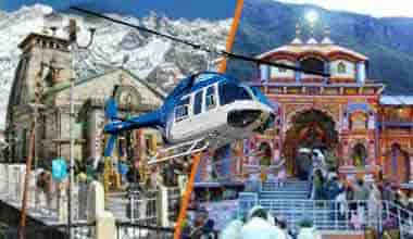 Do Dham Yatra By Helicopter From Delhi