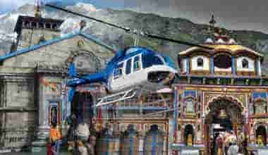 Do Dham Yatra By Helicopter From Mumbai